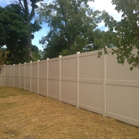 7-11 Privacy PVC fence