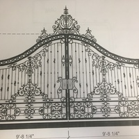 Gate design inspired form France